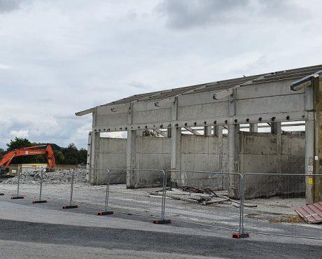 Travaux de silo chez Noriap